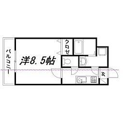 静岡県浜松市南区若林町の賃貸マンションの間取り