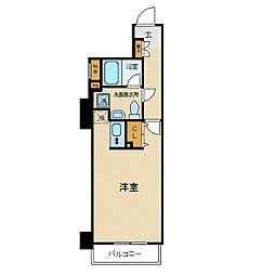 プレール・ドゥーク西横浜[1005(e)号室]の間取り