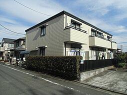 東京都日野市万願寺6丁目の賃貸マンションの外観