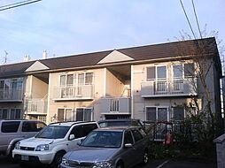 北海道札幌市西区二十四軒二条4丁目の賃貸アパートの外観