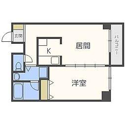 APT−K[2階]の間取り