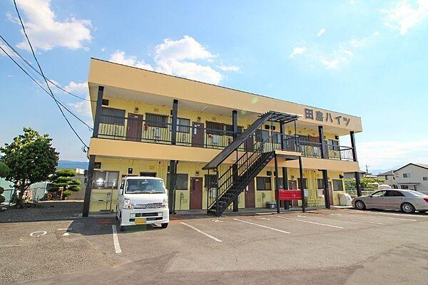 田島ハイツA 2階の賃貸【山梨県 / 中央市】