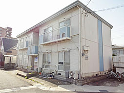 滋賀県大津市和邇南浜の賃貸アパートの外観