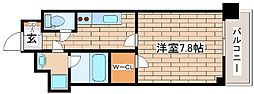 阪急神戸本線 王子公園駅 徒歩6分の賃貸マンション 2階1Kの間取り