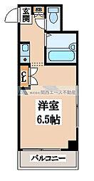 くろ〜ば菱江[5階]の間取り