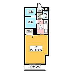 ステージ中央[3階]の間取り