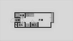ローズハイム[203号室]の間取り