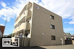 愛媛県松山市北井門4丁目の賃貸マンションの外観