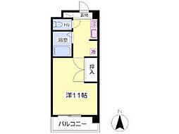 愛媛県松山市和泉北2丁目の賃貸マンションの間取り