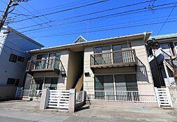 埼玉県川口市坂下町3丁目の賃貸アパートの外観