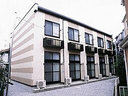 神奈川県川崎市多摩区菅北浦3丁目の賃貸アパートの外観