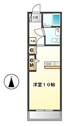 アルフ21 II[2階]の間取り