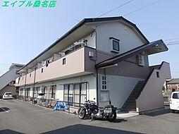 三重県桑名市大字額田の賃貸アパートの外観