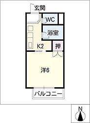 サープラスT&M[1階]の間取り