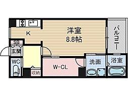 Kens House[3階]の間取り