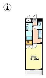 La forte Okaba[1階]の間取り