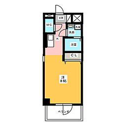 仮)サン・名駅太閤ビル[5階]の間取り