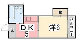 ピュアハイツ[105号室]の間取り