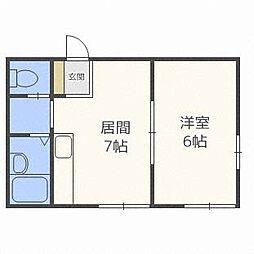 米塚ビル[3階]の間取り