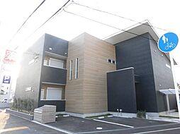 大阪府泉大津市助松町2丁目の賃貸アパートの外観