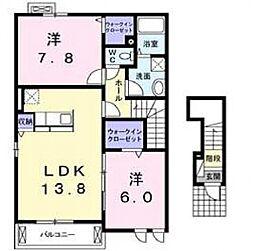 ノイハウスZ[2階]の間取り