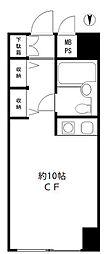 朝日広尾マンション[9階]の間取り