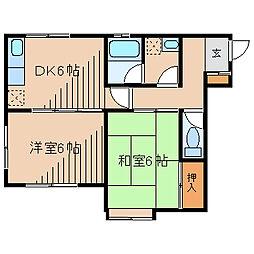 メゾンE&I[1階]の間取り