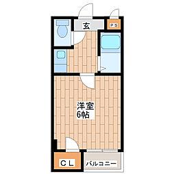 ツインコート平野2番館[207号室]の間取り
