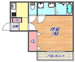 YEBISU.BLD[403号室]の間取り