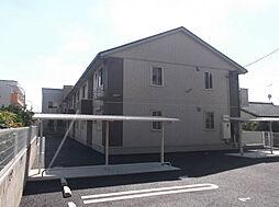 埼玉県春日部市備後東1丁目の賃貸アパートの外観