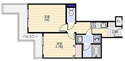 ヴァンハウス金沢八景[302号室]の間取り