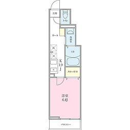 (仮称)船橋市海神町2丁目プロジェクト[106号室]の間取り