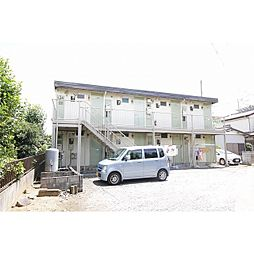茨城県土浦市真鍋4丁目の賃貸アパートの外観