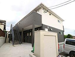福岡県宗像市土穴4丁目の賃貸アパートの外観