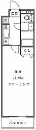 アンベリール新宿[702号室]の間取り