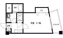 アベニューリップル小阪[306号室]の間取り