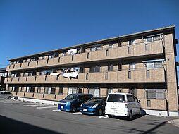 茨城県つくば市みどりの1丁目の賃貸アパートの外観