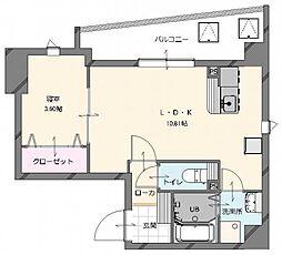 (仮称)博多南駅前新築マンション (新築) 3階1LDKの間取り