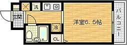 グランディ梅田北[5階]の間取り