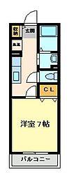 アリアーテ西明石[2階]の間取り
