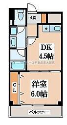 コレクトフォーレ住道[4階]の間取り