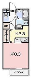 P-Allegiance B棟[1階]の間取り