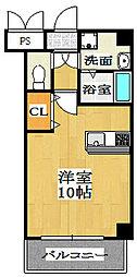 CITY SPIRE上新庄(旧Will Do 上新庄) 1階1Kの間取り