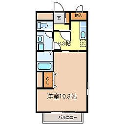 ファームロード[2階]の間取り