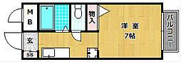 スクエアガーデンB棟[2階]の間取り