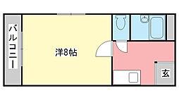 兵庫県加東市松沢の賃貸マンションの間取り