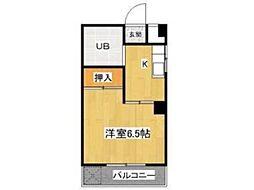 メゾン高幡[2階]の間取り
