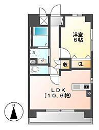 (仮称)岩塚本通1丁目マンション[3階]の間取り