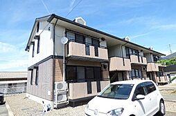 長野県長野市篠ノ井岡田の賃貸アパートの外観