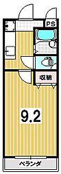 パルテール西川II[22号室]の間取り
